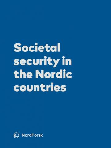 Societal security in the Nordic countries