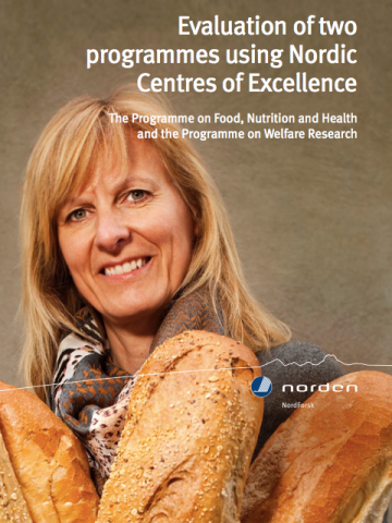 Evaluation of two programmes using Nordic Centres of Excellence